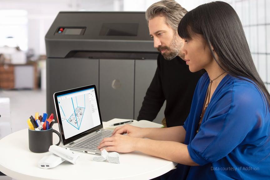 HP 3D Printing Smartstream 3D software